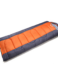 Bolsa de dormir Saco Rectangular Sencilla -5-15 Poliéster75 Camping Al Aire Libre Mantiene abrigado