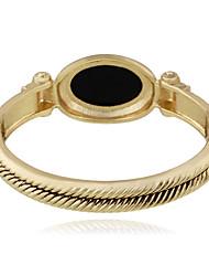 Mulheres Bracelete Moda Liga Forma Redonda Jóias Para Casamento Festa 1peça