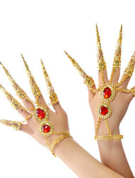 Belly Dance Jewelry Women's Performance Metal Crystal Detailing 2 Pieces