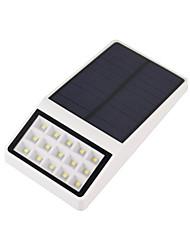 1pcs super lumineux lumière solaire 15led résistant aux intempéries détecteur de mouvement des lampes extérieures pour terrasse patio