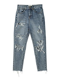 NEW retro wild hole jeans
