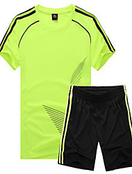 Kid's Soccer Tracksuit Breathable Comfortable Spring Summer Fall/Autumn Winter Solid Polyester Football/Soccer