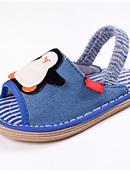 Kids' Loafers & Slip-Ons Spring Summer First Walkers Fabric Outdoor Casual Flat Heel Blue Navy Blue
