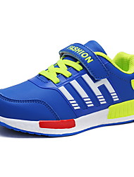 Boys' Athletic Shoes Summer Fall Comfort PU Outdoor Athletic Casual Flat Heel Buckle Running