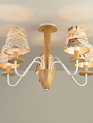 Chandelier   Modern/Contemporary Feature for LED Wood/Bamboo Living Room Bedroom Dining Room Kitchen Study Room/Office
