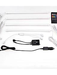 1Set 18*5050SMD Third Generation Car Sound and Remote Control RGB Lamp