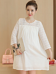 Maternity Summer Wear Fashionable Sweet Fashion  Small Pure And Fresh Bud Silk Joining Together With  Leisure Pregnant Women Dress