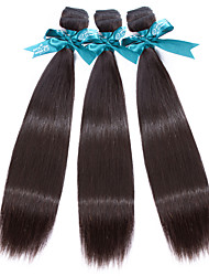 7A Indian Virgin Hair Straight 3 Bundles Indian Straight Virgin Hair  Beauty Hair Products Straight Virgin Human Hair Weaves
