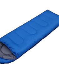 Sac de couchage Rectangulaire Simple -3-8 Polyester75 Randonnée Camping Voyage Garder au chaud Portable