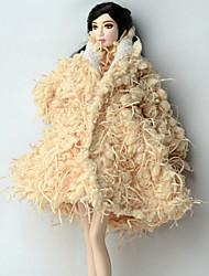 Plus d'accessoires Pour Poupée Barbie Manteau Pour Fille de Jouets DIY