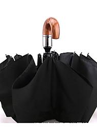 Guarda-Chuva/Sombrinha para Anti-insolação Borracha-Preto