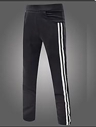 Hombre Sexy Chic de Calle Tiro Medio Microelástico Chinos Pantalones de Deporte Pantalones,Corte Ancho Corte Recto Estampado