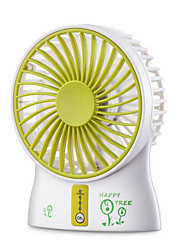 C4-3 Handheld Mini Fan Creative Gift Fan USB5V Charging / Battery Powered Dual Mode Portable Fan