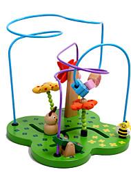 Blocos de Construir Brinquedo Educativo Brinquedos de Lógica & Quebra-Cabeças para presente Blocos de Construir Madeira2 a 4 Anos 5 a 7