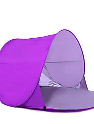 COME 2 Personas Tienda de playa Tienda Solo Carpa para camping Tienda de playa Impermeable Portátil Resistente a los UV 2000-3000 mm para