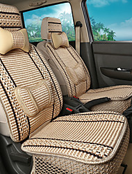 Ice silkLeatherwearBusiness Car 7 Seater Van Seven Car seat Cushion Leather Four Seasons Cushion Seat Cover