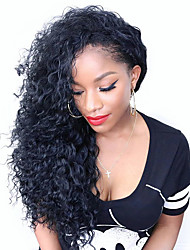 100% Full Lace Human Hair Wigs Pre Plucked Human Hair Wigs Lace Front Natural Water Wave Lace Wig-glueless with Baby Hair