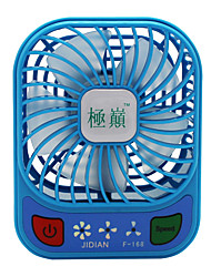 Jidian f168 ventilador usb mini carregador pequeno ventilador portátil dormitório mesa desktop grande vento mudo fã