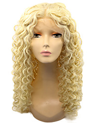 613 Color Lace Front Syntehtic Wigs Kinky Curly Hair Heat Resistant Fiber Hair Curly Wig for Fashion Woman