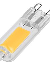 G9 Luces LED de Doble Pin T 1 COB 110-200 lm Blanco Cálido Blanco Fresco AC230 V 1 pieza
