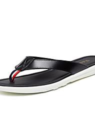 Men's Slippers & Flip-Flops Summer Light Soles Cowhide Casual