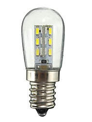 1W E12 LED Globe Bulbs 24 SMD 2835 50-99 lm Warm White White Decorative AC110 AC220 V 1 pcs
