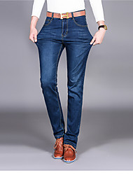 Men's High Rise Inelastic Chinos Pants,Street chic Slim Solid