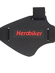 Herobiker motocicleta mudança equipamentos de engrenagem bloqueio blocos de borracha sapatos sets mudança pad engrenagem tampas de sapato