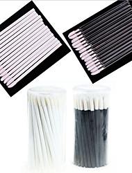 リップブラシ ナイロン製ブラシ 携帯式 プラスチック リップ