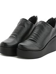 Mulheres botas de conforto primavera couro