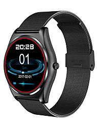 Reloj Smart Long Standby Podómetros Monitor de Pulso Cardiaco Pantalla táctil Carga WirelessReloj Cronómetro Despertador Recordatorio de