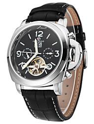 FORSINING® Men's Tourbilion Design Hollow Auto Mechanical Fashion Watch Cool Watch Unique Watch