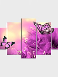 Stretched Canvas Print Animal Modern,Five Panels Canvas Any Shape Print Wall Decor For Home Decoration
