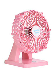 Nouveau chargeur usb mini ventilateur happy ferris wheel desktop petit ventilateur fan aromatique beauté muet smart small fan
