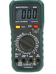 MASTECH MY64 Digital Multimeter AC/DC DMM Frequency Capacitance Temperature  Ammeter Multimetro Meter Tester w/ hFE Test