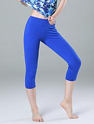 Pantaloni da yoga 3/4 Collant/Corsari Asciugatura rapida Traspirabilità alta (> 15001 g) Compressione Comodo Sostegno e protezioni