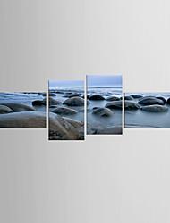 Художественная печать Пейзаж Modern Средиземноморье,4 панели Холст Любая форма Печать Искусство Декор стены For Украшение дома