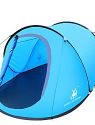 2 Personas Tienda Solo Carpa para camping Tienda de Campaña Automática Impermeable Resistente al Viento Resistente a los UV Plegable