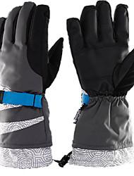 Gants de ski Tous Gants sport Garder au chaud Etanche Résistant à la neige Protectif Ski Polyester Gants de ski Hiver