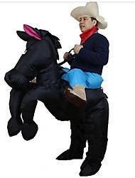 Costumes de Cosplay Pour Halloween Gonflable Imperméable Animal Burlesques Cosplay Cosplay de Film Collant/Combinaison Ventilateur