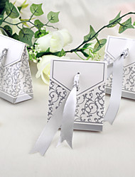 12 Piece/Set Favor Holder - Creative Card Paper Candy Bag 7 x 3.8 x 8.5 cm Beter Gifts® Favor Box DIY Wedding Party Decor