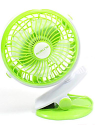 360 degrés de mini usb chargeur fan ventilateur ventilateur poussette de bébé ventilateur dortoir petit ventilateur
