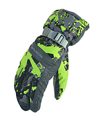 Gants de ski Tous Gants sport Garder au chaud Etanche Résistant au vent Résistant à la neige Respirable Antidérapage Mèche Protectif