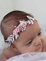 Kid's Handmade Flowers Beautyful Spring  Wreath Gold/Silver Handbands
