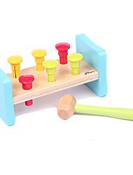 Brinquedo Educativo para presente Blocos de Construir Brinquedos Criativos & Pegadinhas Brinquedos Madeira 5 a 7 Anos 8 a 13 Anos
