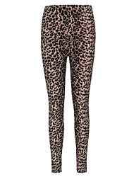 Women's Polyester sexy Leggings Leopard Leggings Print Skinny Pants High Elastic Stretch Pants Female Geometric Pant