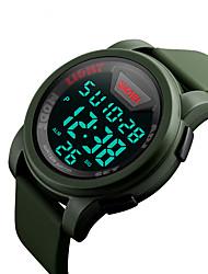 Los deportes al aire libre de la mujer de los hombres del skmei 1218 impermeabilizan los relojes electrónicos de los deportes impermeables
