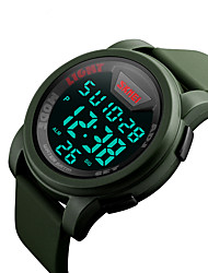 SKMEI 1218 Men's Woman Outdoor Sports Multi - Function Waterproof Sports Electronic Watches