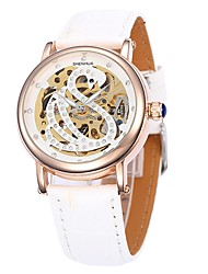 Shenhua Women's Fashion And Leisure Swan Pattern Is a High Quality Mechanical Watch