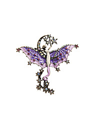 Fashion Trendy Cute Enamel Fairy Metal brooch